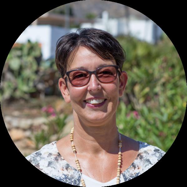 Yvonne Schnoor ist Inhaberin des Boutiqiue BnBs Cortijo El Sarmiento in Andalusien.